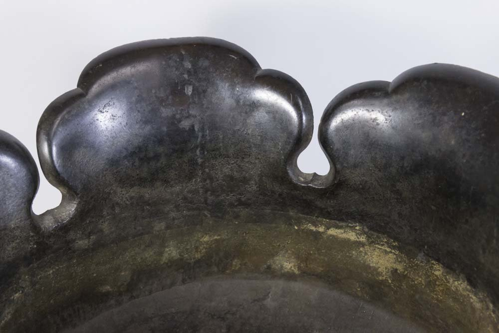 Chinese Bronze Hat-Shaped Incense Burner - 3