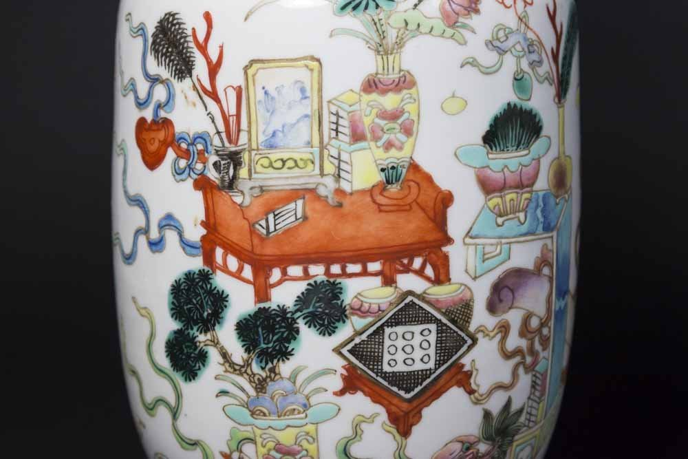 2 Chinese Porcelain Ginger Jars - 3
