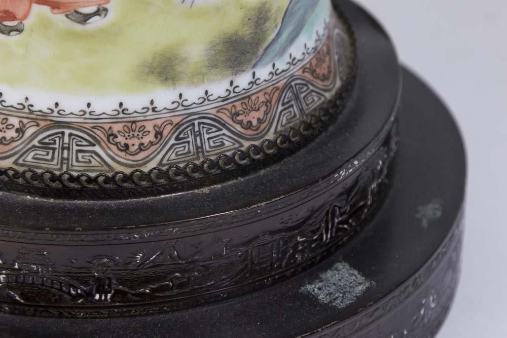 Famille Rose Chinese Porcelain Vase - 6
