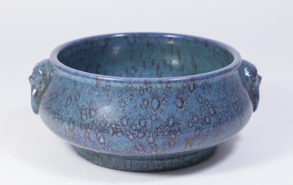 Chinese Robin's Egg Porcelain Censer