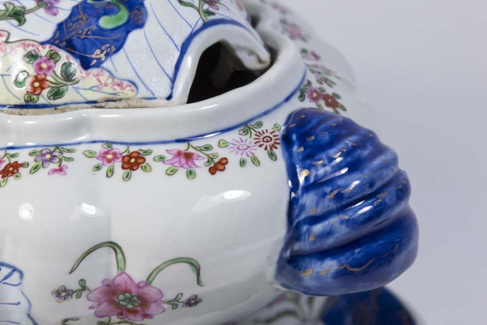 Chinese Porcelain Tureen & Underplate - 3
