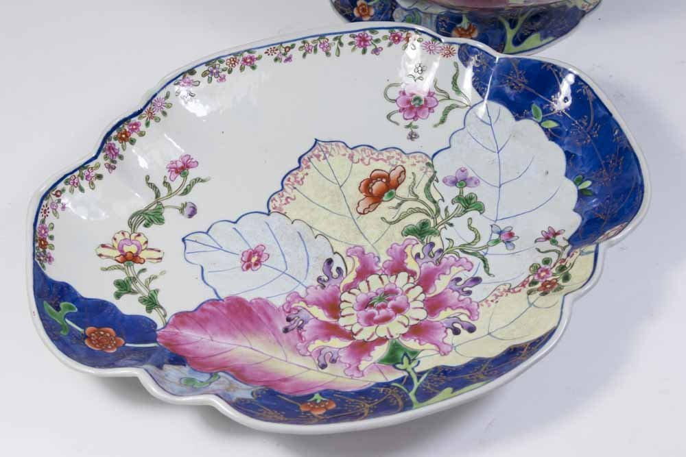Chinese Porcelain Tureen & Underplate - 4
