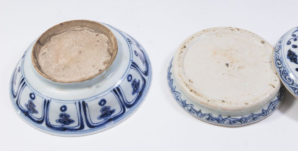 2 Blue & White Chinese Porcelain Pieces - 4