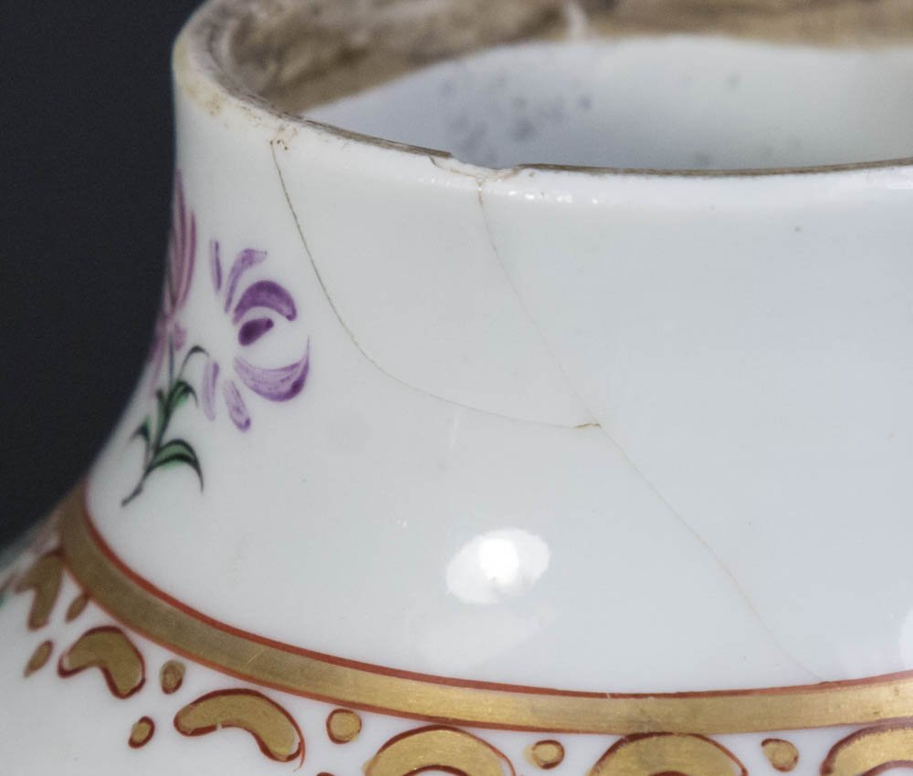 Chinese Export Porcelain Covered Vase - 8