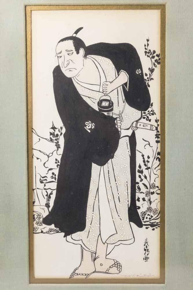 Pair  Japanese Prints - 2