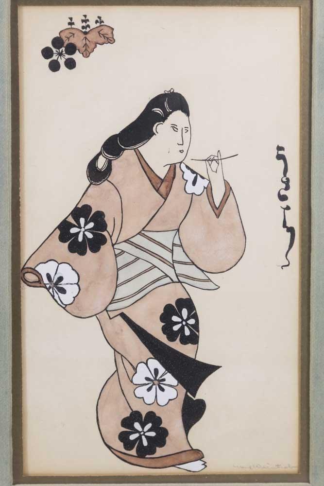 Pair  Japanese Prints - 3