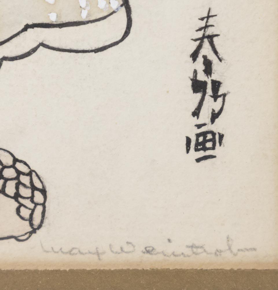 Pair  Japanese Prints - 4