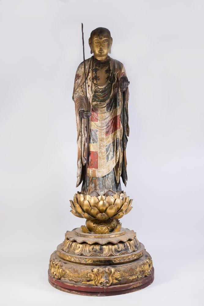 Standing Figure of Jizo