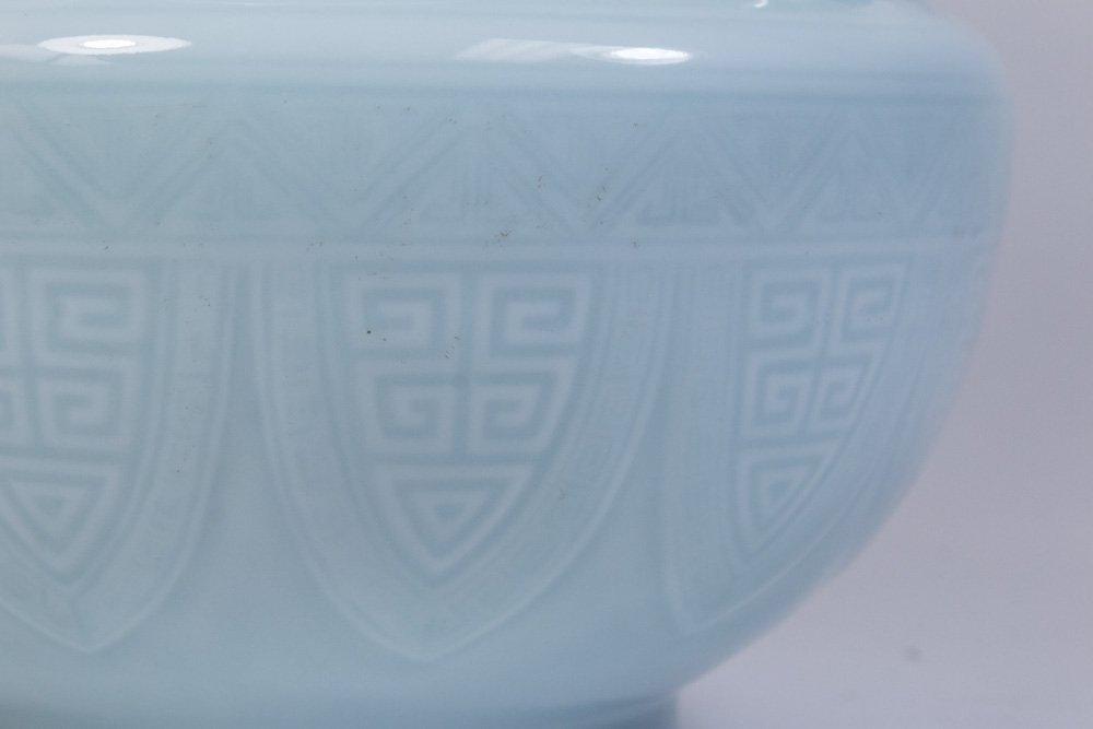 Claire De Lune Glazed Chinese Porcelain Vase - 2
