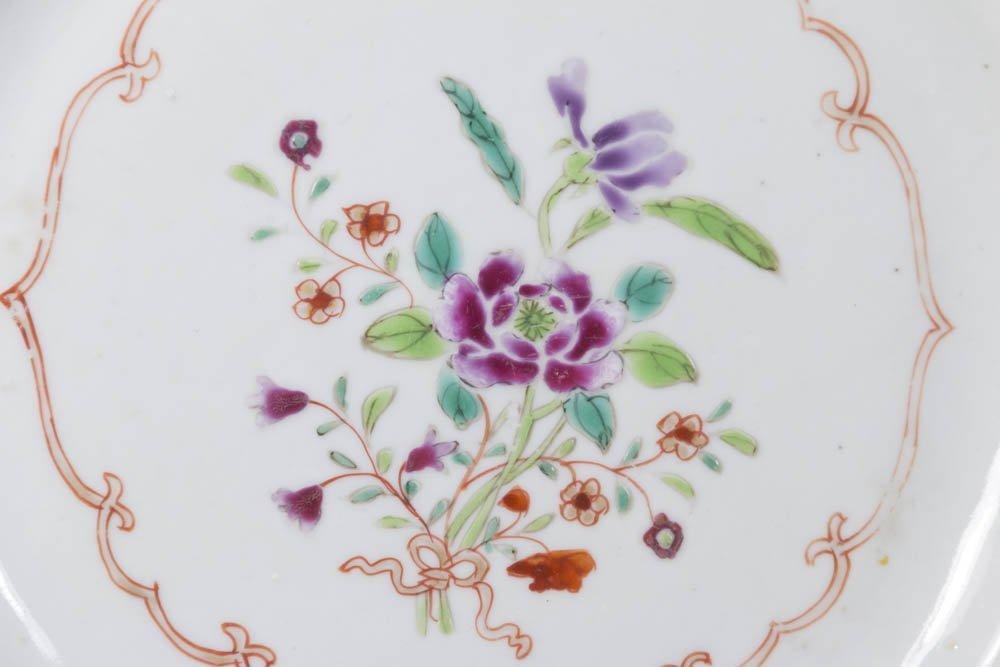 Pair Asian Porcelain Plates - 2