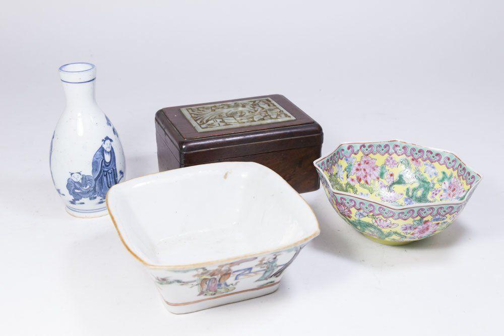 Lot 4 Asian Items