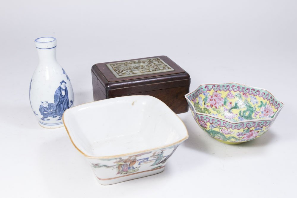 Lot 4 Asian Items