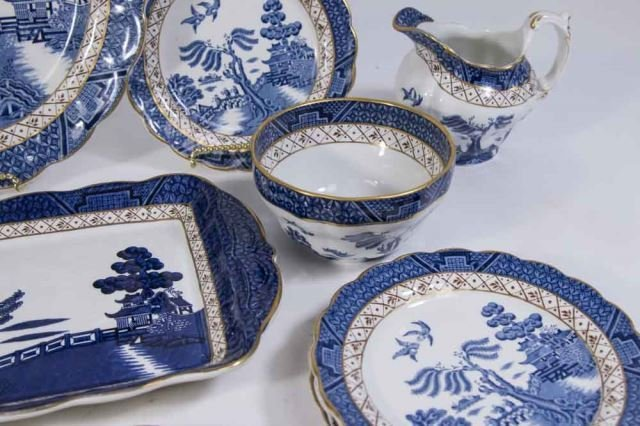 :Booths English Dinnerware by Pearl Old Willow - 3