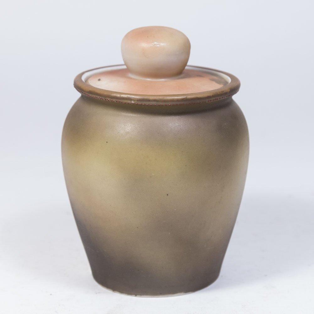 Nippon Porcelain Tobacco Jar - 2