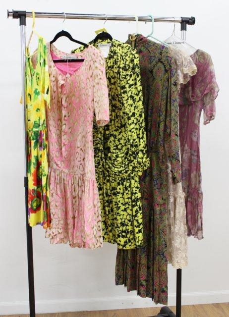6 Women's Vintage Designer Dresses