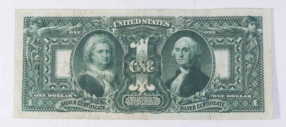 1896 $1 Silver Certificate - Educational Series