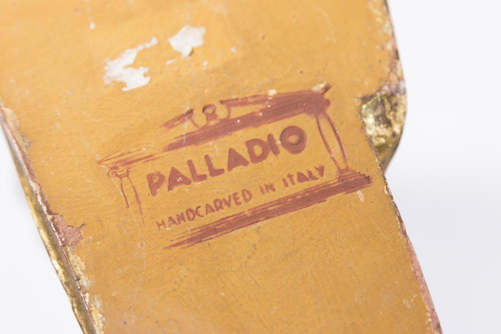 Pair Mid-20th Century Italian Giltwood Wall Lights - 5