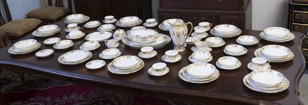 Noritake Gilded Dinnerware Set