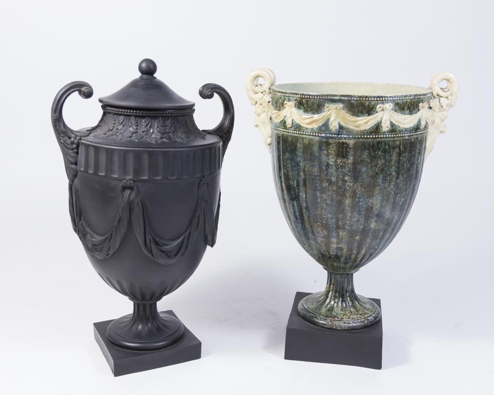 2 Wedgwood & Bentley Urns