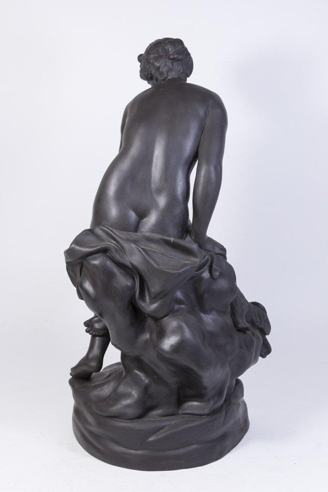 Wedgwood Black Basalt Figure of Venus on Rock - 5