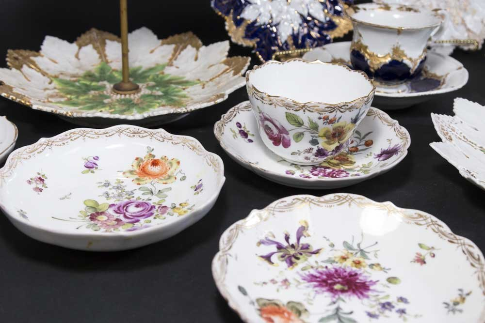 Group Lot Meissen Porcelain - 5