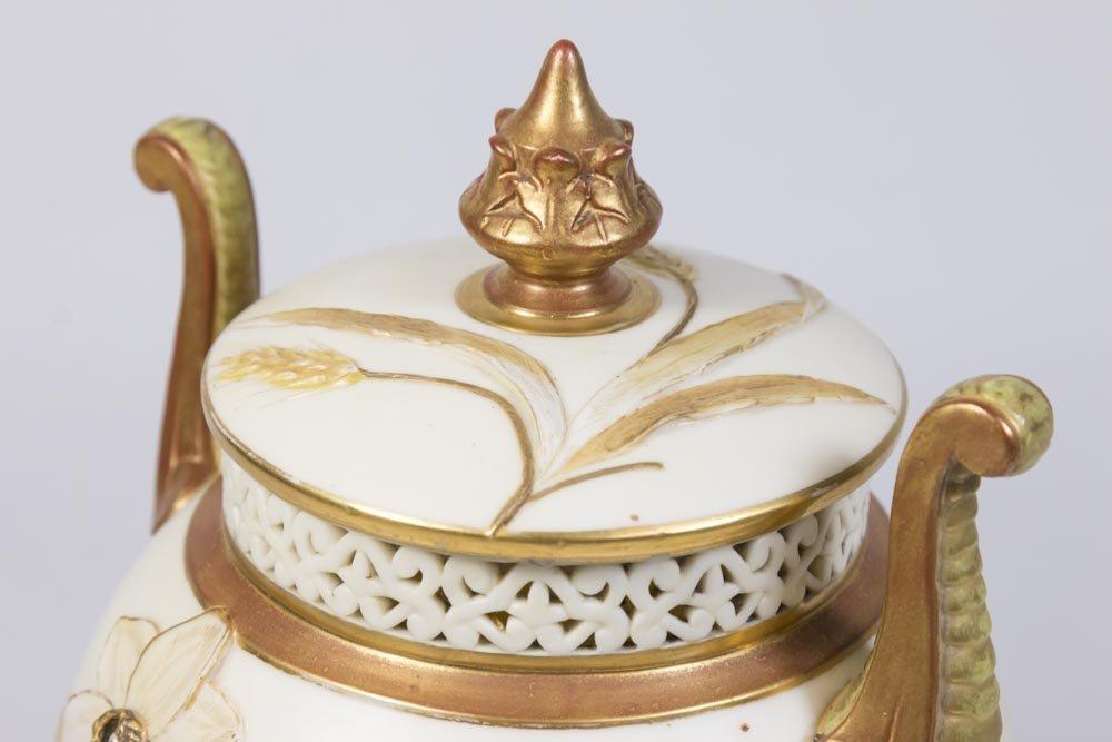 Royal Worcester Covered Urn - 4