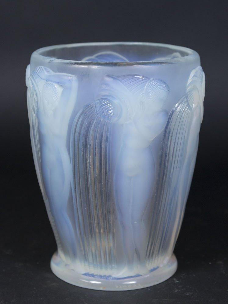 R. Lalique Vase with 6 Nudes