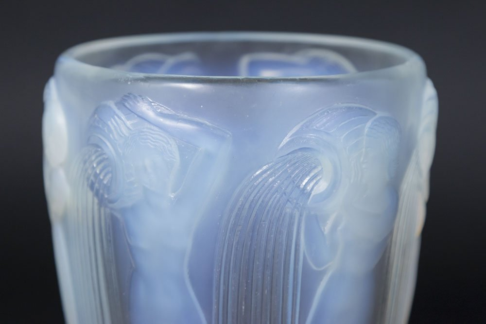 R. Lalique Vase with 6 Nudes - 3