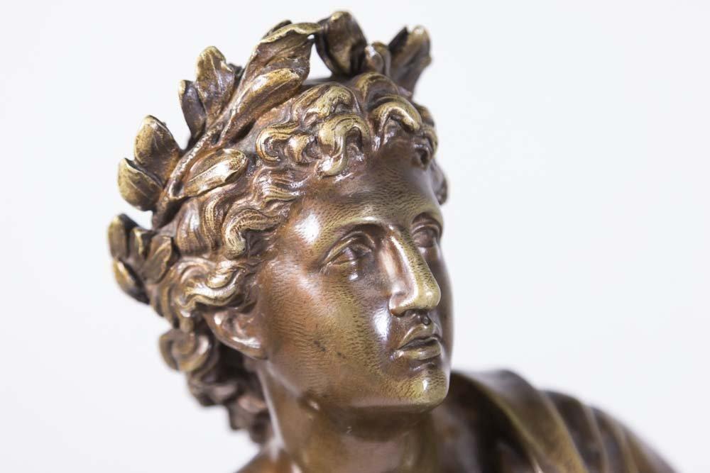 19th Century Bronze Figure of Apollo - 2