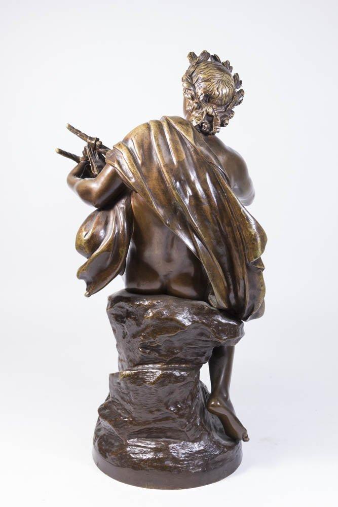 19th Century Bronze Figure of Apollo - 4