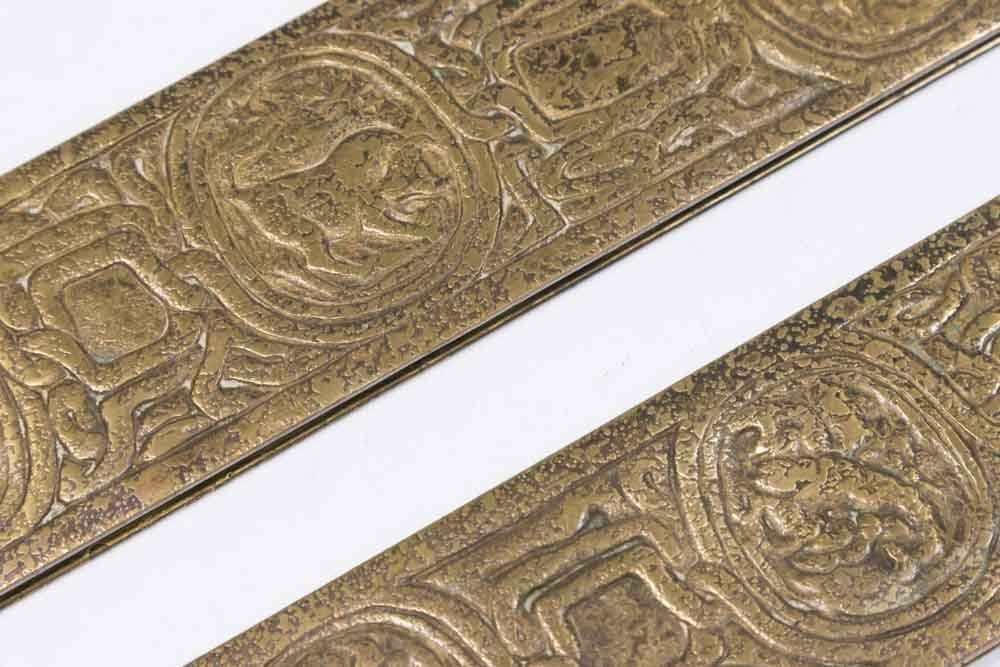 Tiffany Studios Pair Bronze Blotters - 2