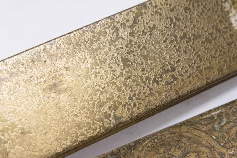 Tiffany Studios Pair Bronze Blotters - 5