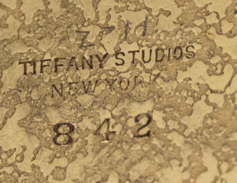 Tiffany Studios Bronze Inkwell - 4