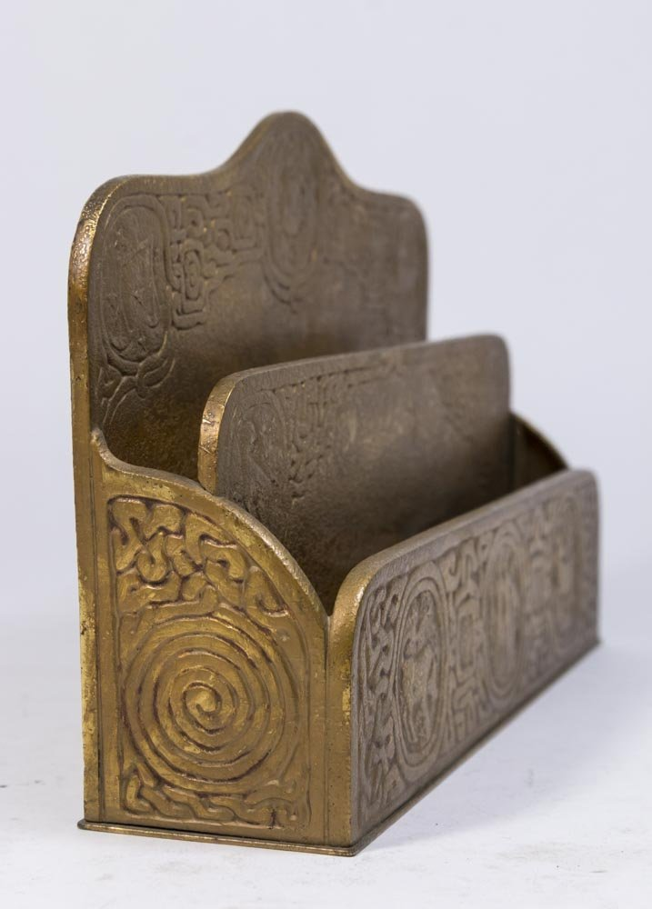 Bronze Tiffany Studios Letter Rack - 3