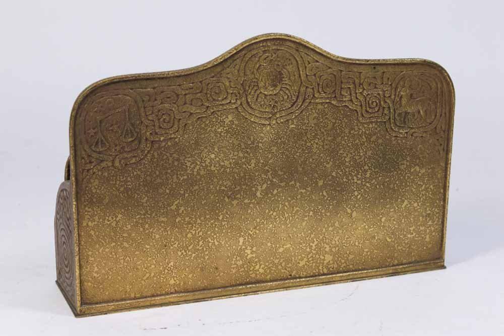 Bronze Tiffany Studios Letter Rack - 4