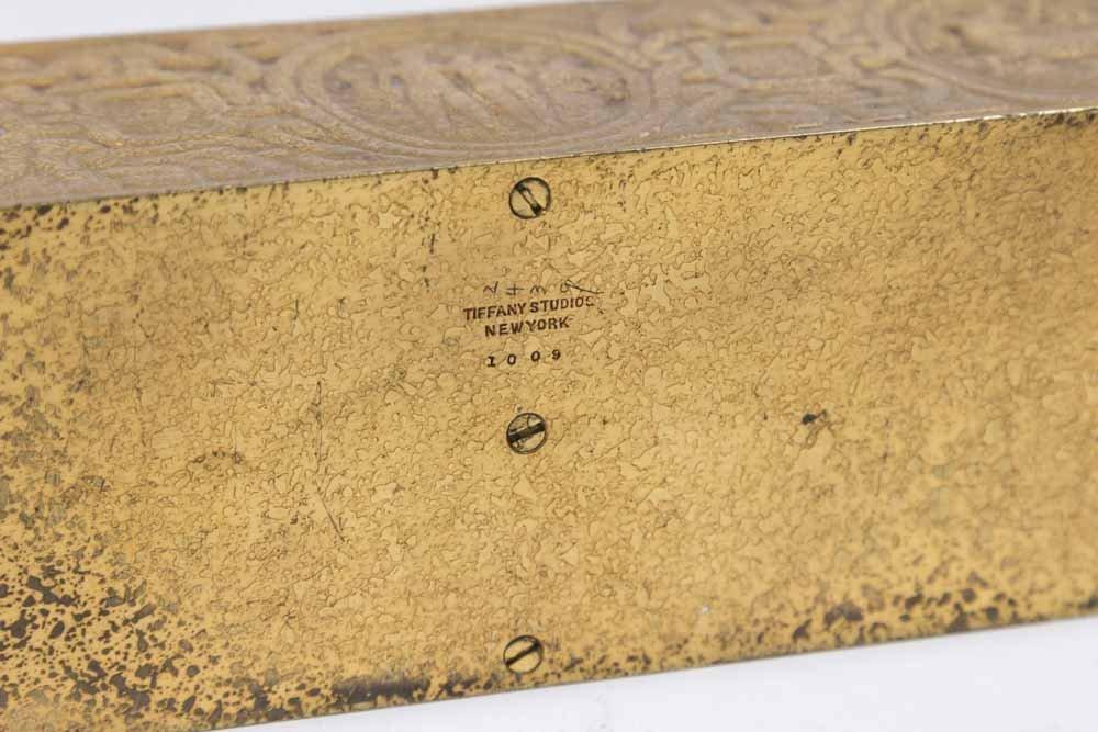 Bronze Tiffany Studios Letter Rack - 5