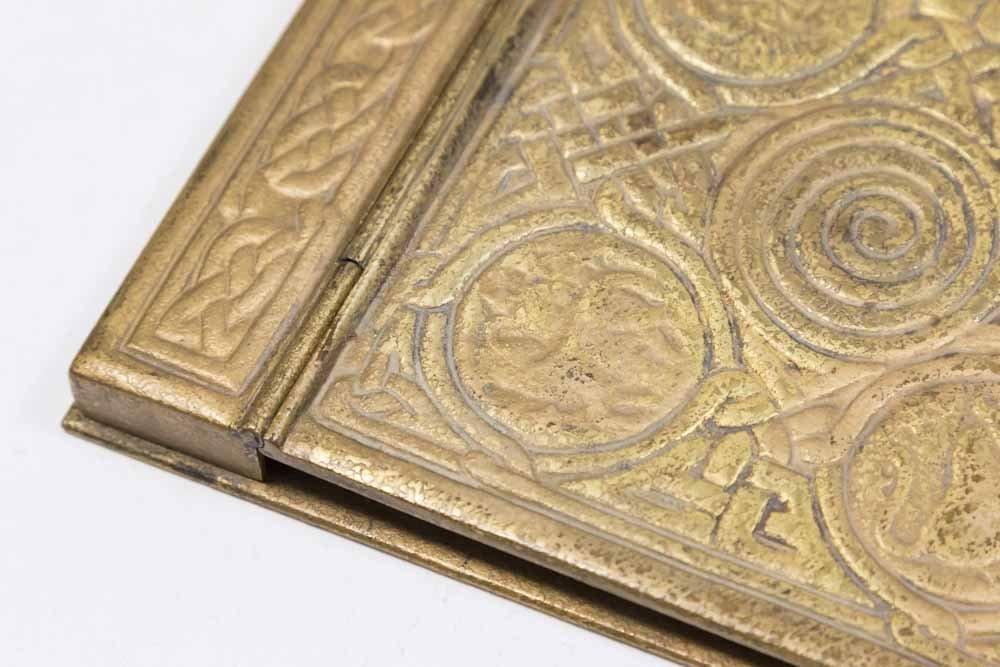Tiffany Studios Bronze Memo Pad & Tray - 2