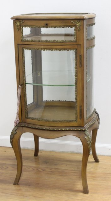 French Bronze Mounted Curio/Vitrine - 2