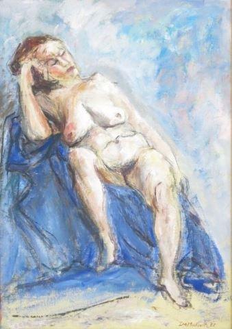 ":Ira Moskowitz, ""Blue Nude"""