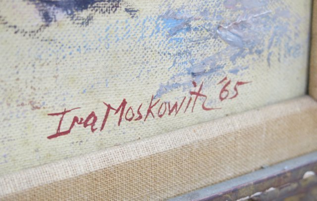 ":Ira Moskowitz, ""Blue Nude"" - 4"