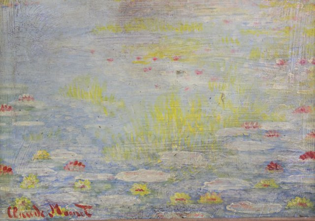 After Claude Monet, Lily Pond, Giverny - 2