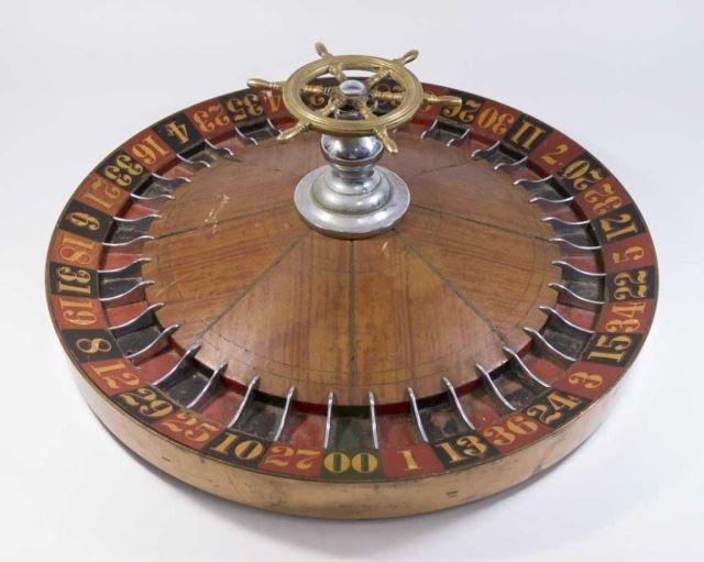 :Vintage Roulette Wheel