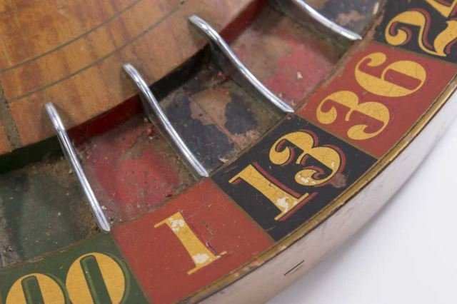 :Vintage Roulette Wheel - 4