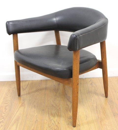 Set 4 Mid Century Walnut Armchairs - 2