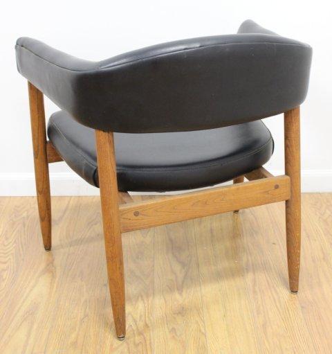 Set 4 Mid Century Walnut Armchairs - 3