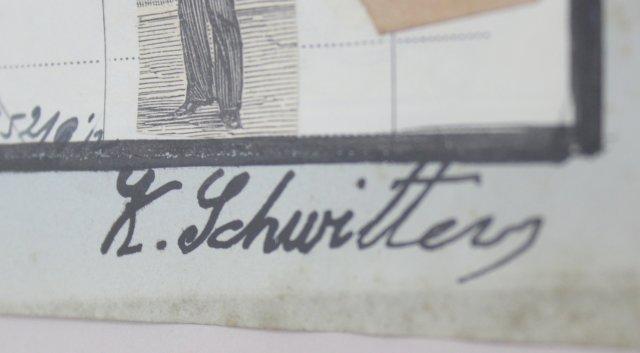 Kurt Schwitters, Mixed Media Collage - 3