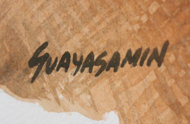 Oswaldo Guayasamin, Augustia #1, 1977 - 4