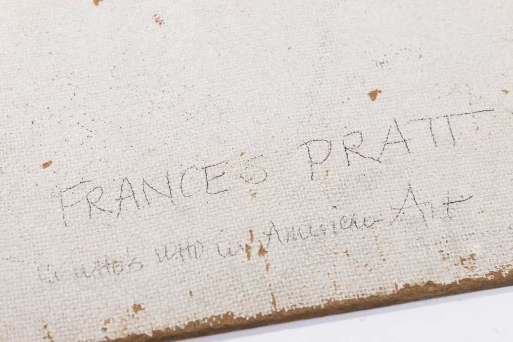 Attributed to Frances Pratt, Abstract - 4