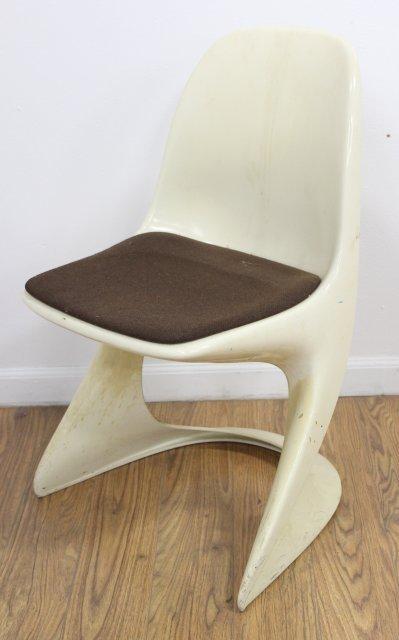 Set 6 Casala Plastic Armchairs - 2