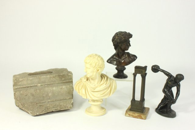 Five Grand Tour Style Objects